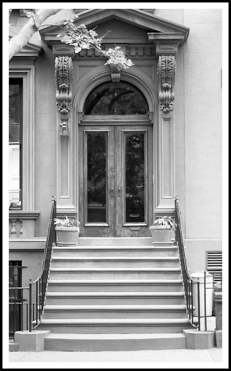 Brownstone Door Found Brooklyn Brownstone