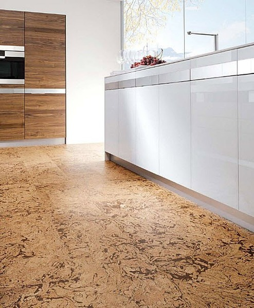 Cork floor brooklyn brownstone for Cork floor tiles