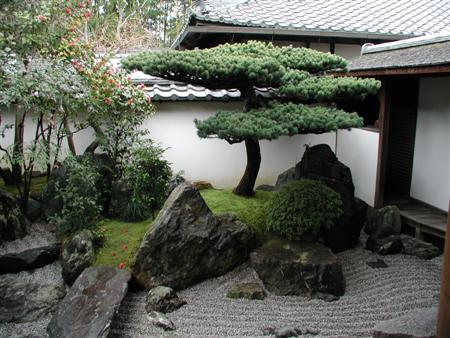 Japanese kyoto courtyard gardens brooklyn brownstone - Small japanese garden ideas ...